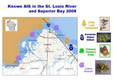 St. Louis River and Superior Bay Known AIS